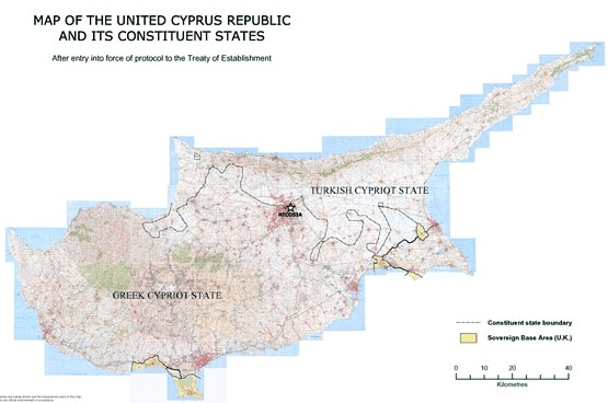 Treaty Concerning The Establishment of The Republic of Cyprus Rep