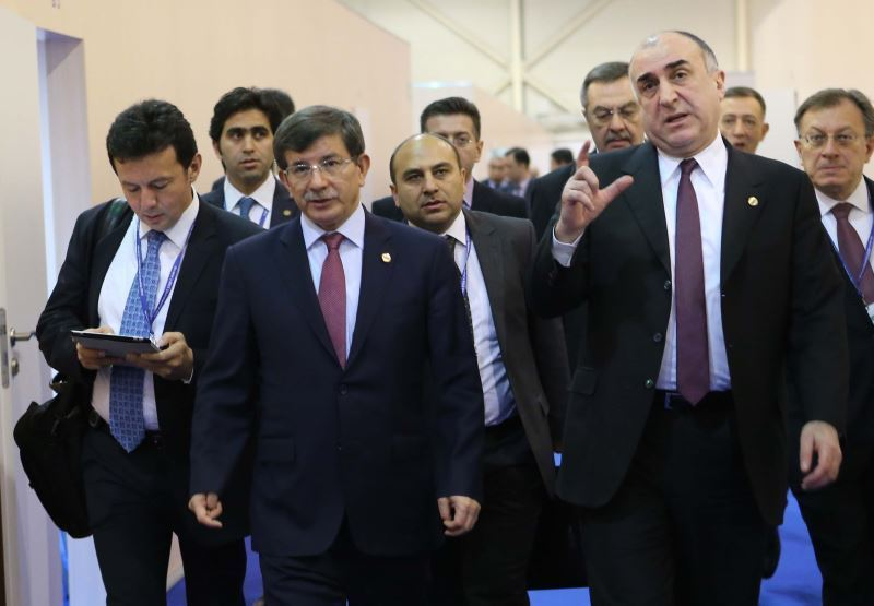foreign minister davutoğlu participates in the osce ministerial