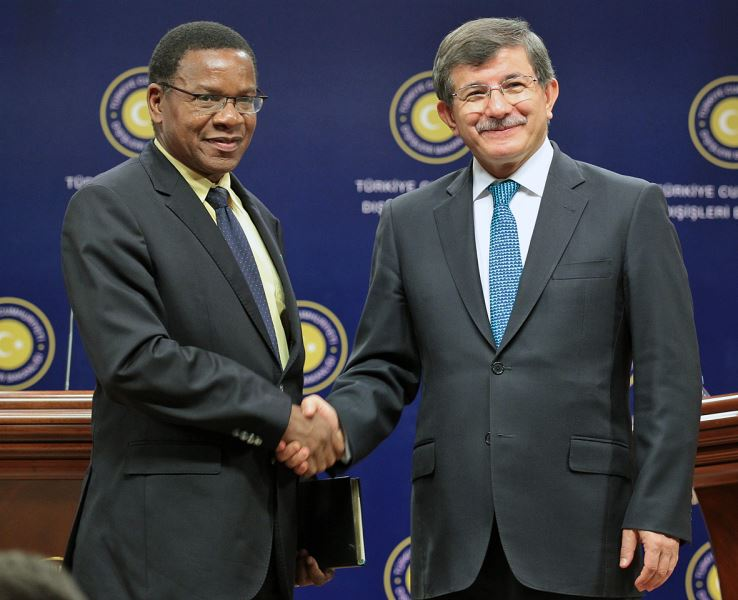Foreign Minister Membe Of Tanzania Pays An Official Visit To