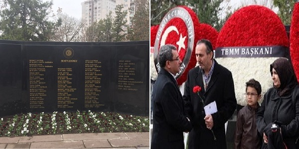 Commemoration Held at Martyrs' Cemetery of the Foreign Ministry on 18 March Martyrs' Day