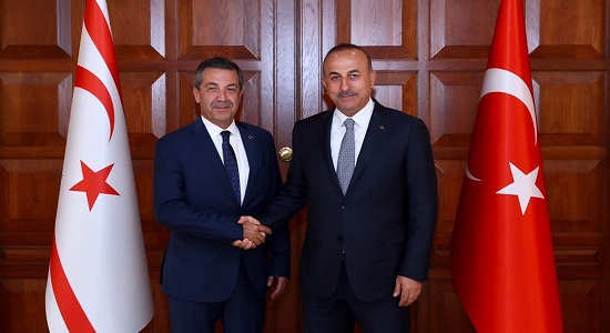 The visit of the Foreign Minister Tahsin Ertuğruloğlu of TRNC to Turkey, 19 - 20 June 2017