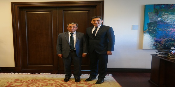 Deputy Foreign Minister Ambassador Ahmet Yıldız met with Minister of Public Administration of the Republic of Kosovo Mahir Yağcılar, 15 May 2017