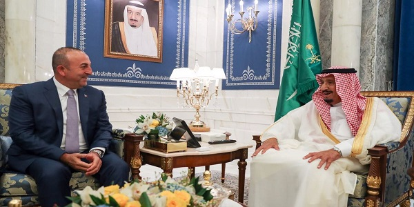 Visit of Foreign Minister Çavuşoğlu to Saudi Arabia, 16 June 2017