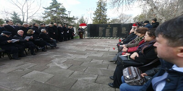 Commemoration  Held at Martyrs' Cemetery of the Foreign Ministry, on 18 March Martyrs' Day