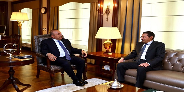 Foreign Minister Çavuşoğlu received Ambassador of Saudi Arabia to Ankara, 17 April 2017
