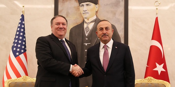 The visit of U.S. Secretary of State Mike Pompeo to Turkey, 17 October 2018