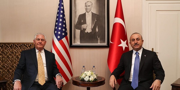 The visit of US Secretary of State Rex Tillerson to Turkey, 15-16 February 2018