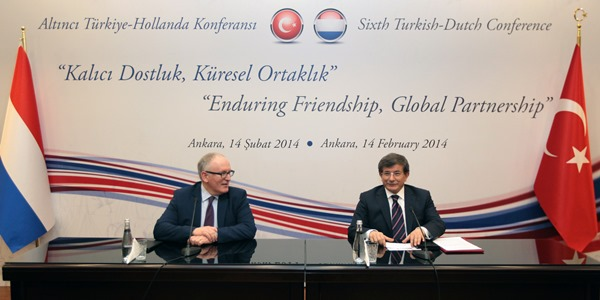 The Sixth Turkish-Dutch Conference was held in Ankara