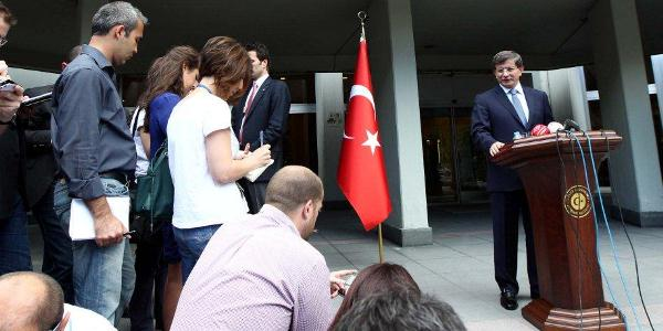 "Foreign Minister Davutoglu ""The European Parliament resolution on the situation in Turkey is unacceptable"""
