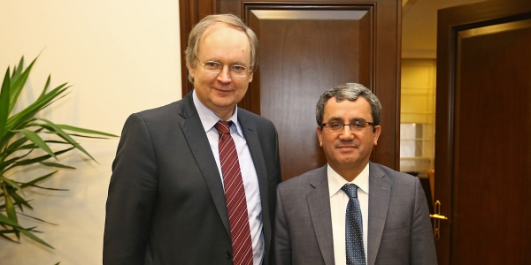 Deputy Foreign Minister Ambassador Yıldız received Head of the EU Delegation to Turkey
