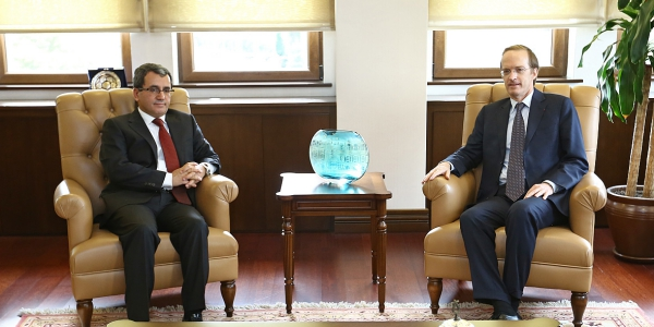 Deputy Foreign Minister Ambassador Ahmet Yıldız received Ambassador of France