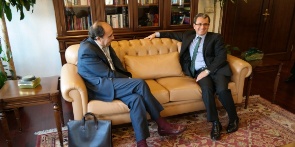Deputy Foreign Minister Ambassador Yıldız received NATO Assistant Secretary General