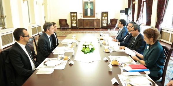Deputy Foreign Minister Ambassador Yıldız received UN Special Rapporteur on Freedom of Opinion and Expression