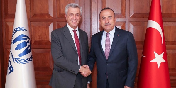 Meeting of Foreign Minister Mevlüt Çavuşoğlu with United Nations High Commissioner for Refugees, Filippo Grandi, 3 September 2019