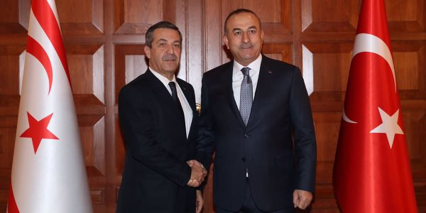 The visit of the Foreign Minister of TRNC to Turkey