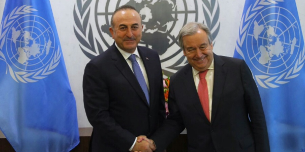 The visit of Foreign Minister Çavuşoğlu to New York