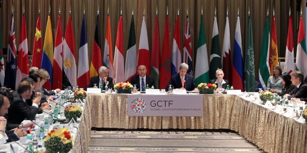 Turkey and the USA co-chaired the Global Counter-Terrorism