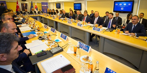 Foreign Minister Mevlüt Çavuşoğlu attended Reform Action Group Meeting, 29 August 2018