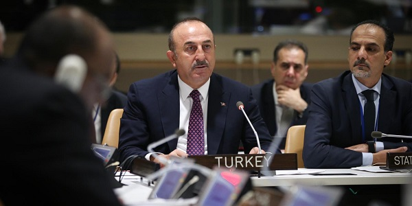 Foreign Minister Mevlüt Çavuşoğlu is visiting the US to attend the 73rd Session of the UN General Assembly, 26 September 2018