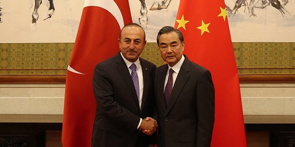 Foreign Minister Mevlüt Çavuşoğlu visited People's Republic of China, 14-15 June 2018