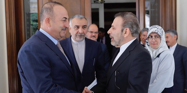 Foreign Minister Mevlüt Çavuşoğlu met with Mahmoud Vaezi, Head of the Office of the Iranian President, 9 August 2018