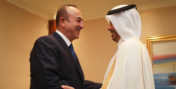 Foreign Minister Mevlüt Çavuşoğlu visited Qatar to attend the 18th Doha Forum, 15-16 December 2018