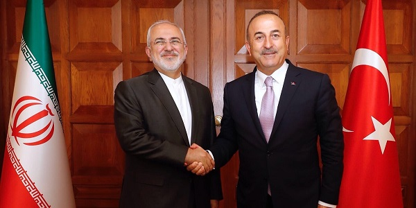 The visit of Foreign Minister Javad Zarif of Iran to Turkey, 29 August 2018