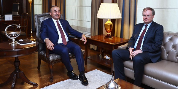 Foreign Minister Mevlüt Çavuşoğlu received the Head of the EU Delegation to Turkey on 8 August 2017