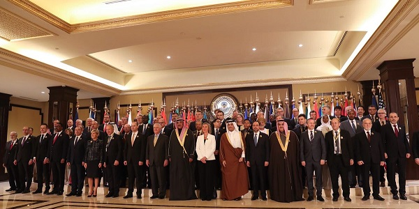 Foreign Minister Mevlüt Çavuşoğlu's visit to Kuwait to attend the International Counter-DEASH Coalition Foreign Ministers Meeting and the International Conference for Reconstruction of Iraq, 12-14 February 2018
