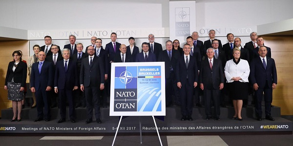 Foreign Minister Mevlüt Çavuşoğlu's visit to Belgium to attend the NATO Foreign Ministers Meeting, 5-6 December 2017