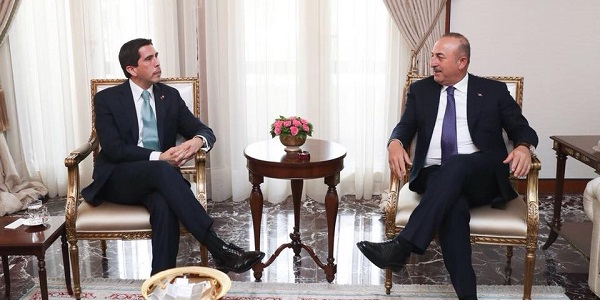 Foreign Minister Mevlüt Çavuşoğlu met with Deputy Foreign Minister of Paraguay, 20 March 2018