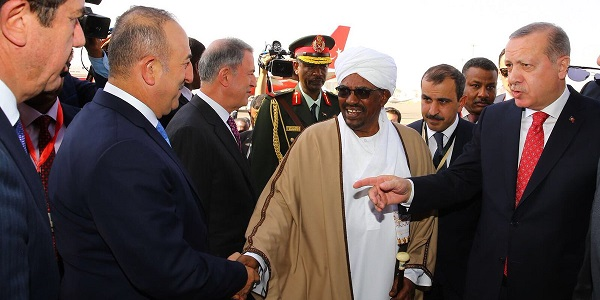 Foreign Minister Mevlüt Çavuşoğlu accompanied President Erdoğan during his visit to Sudan, Chad and Tunisia, 24-27 December 2017