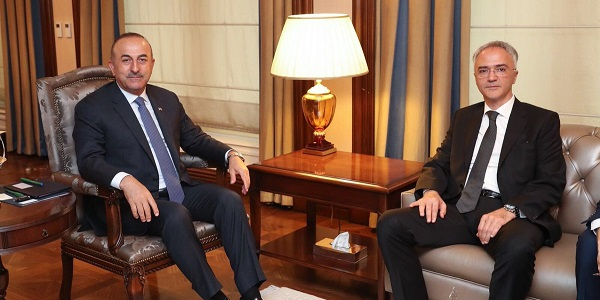 Foreign Minister Mevlüt Çavuşoğlu met with Ambassador of Serbia in Ankara, 9 May 2018