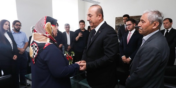 Foreign Minister Mevlüt Çavuşoğlu visited Germany to attend the Commemoration Ceremonies for the 25th Anniversary of Solingen Attack, 29 May 2018
