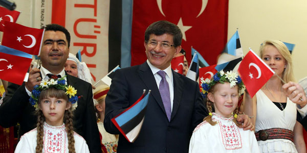 Foreign Minister Davutoğlu paid an official visit to Estonia.