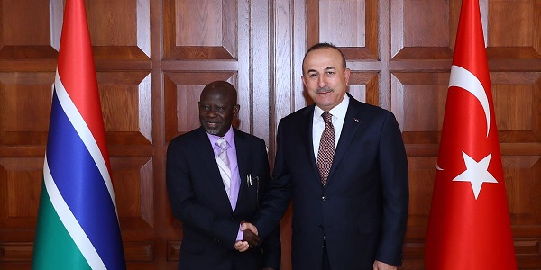 The visit of Minister of Foreign Affairs, International Cooperation and Gambians Abroad Ousainou Darboe to Turkey, 13 July 2017