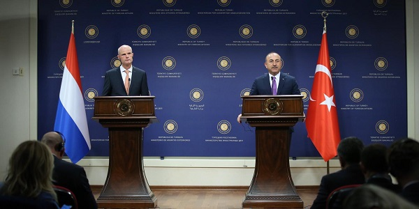 The visit of Foreign Minister Stef Blok of the Netherlands to Turkey, 3-4 October 2018