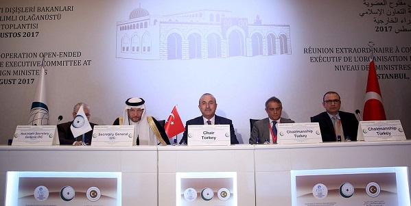 The Extraordinary Meeting of the OIC Executive Committee was held in İstanbul on 1 August 2017
