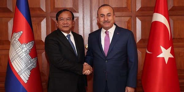 The visit of Deputy Prime Minister and Foreign Minister Prak Sokhonn of Cambodia to Turkey, 1-3 October 2018