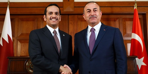Visit of the Minister of Foreign Affairs of the State of Qatar, Sheikh Mohammed bin Abdulrahman bin Jassim Al-Thani to Turkey, 13-14 July 2017