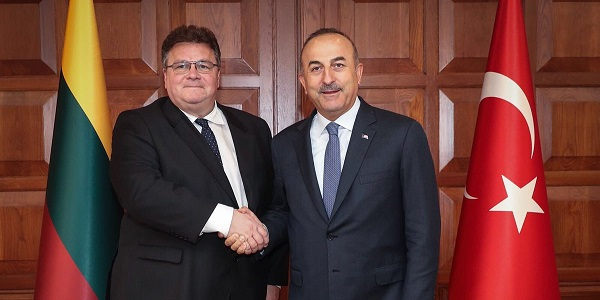 The visit of Foreign Minister Linas Linkevicius of Lithuania to Turkey, 9 May 2018