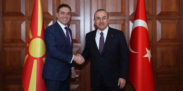 The visit of Foreign Minister Nikola Dimitrov of Macedonia, 17 January 2019