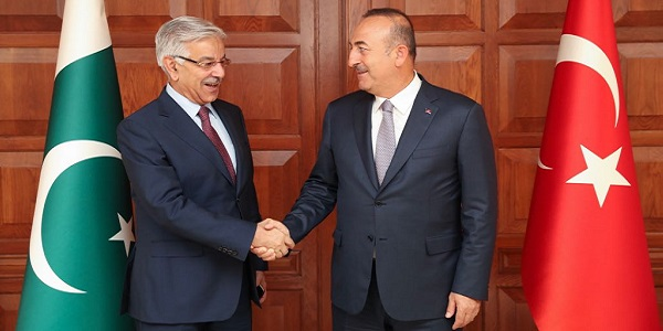 Visit of Foreign Minister Mohammed Asif of Pakistan to Turkey, 12 September 2017