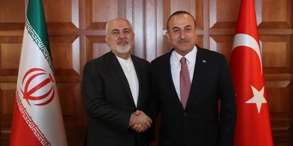 Meeting of Foreign Minister Mevlüt Çavuşoğlu with Foreign Minister Javad Zarif of Iran, 17 April 2019