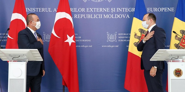 Visit of Foreign Minister Mevlüt Çavuşoğlu to Moldova, 26-27 August 2020