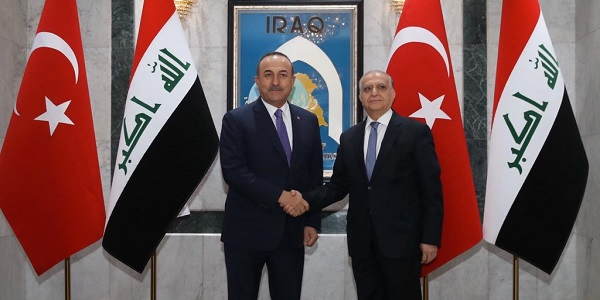 Visit of Foreign Minister Mevlüt Çavuşoğlu to Iraq, 9 January 2020