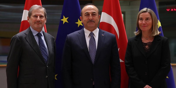 Visit of Foreign Minister Mevlüt Çavuşoğlu to Brussels to attend the III. Brussels Conference on Syria and Turkey-EU Association Council Meeting, 13-15 March 2019