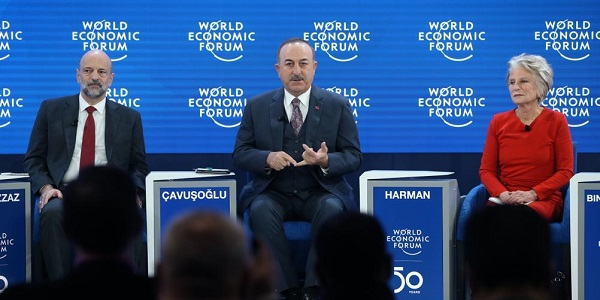 Visit of Foreign Minister Mevlüt Çavuşoğlu to Davos to attend World Economic Forum 50th Annual Meeting-2, 21-23 January 2020