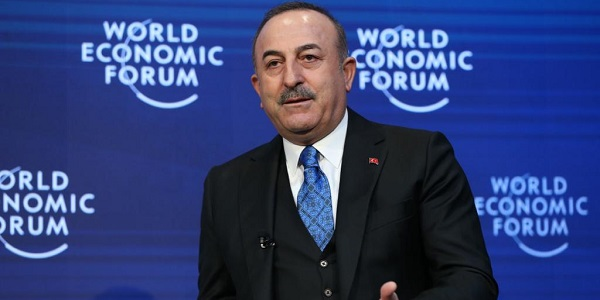 Visit of Foreign Minister Mevlüt Çavuşoğlu to Davos to attend World Economic Forum 50th Annual Meeting-3, 21-23 January 2020