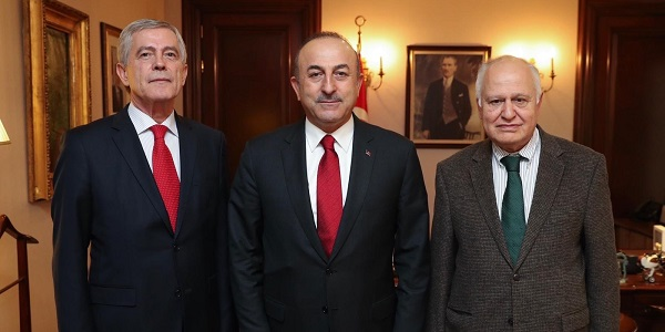 Foreign Minister Mevlüt Çavuşoğlu met with Ambassadors and attended the Wednesdays Conferences Series of Gendarmerie and Coast Guard Academy, 2 January 2019